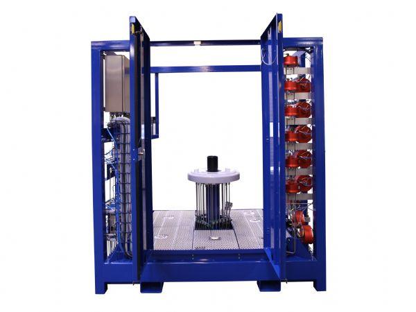 Serman & Tipsmark har leveret ni testbænke til Technip FMC, hvilket har ført til store effektiviseringer af olievirksomhedens testprocesser.