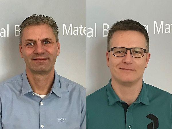 Bo Enevoldsen (t.v.) og Morten Rasmussen er begge startet hos Beckhoff Automation.