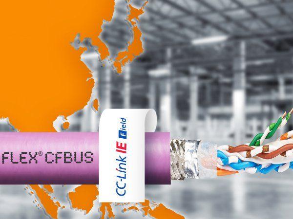 Igus´ Chainflex Ethernet-kabler skal sikre hurtig dataoverførsel - også ved global anvendelse.