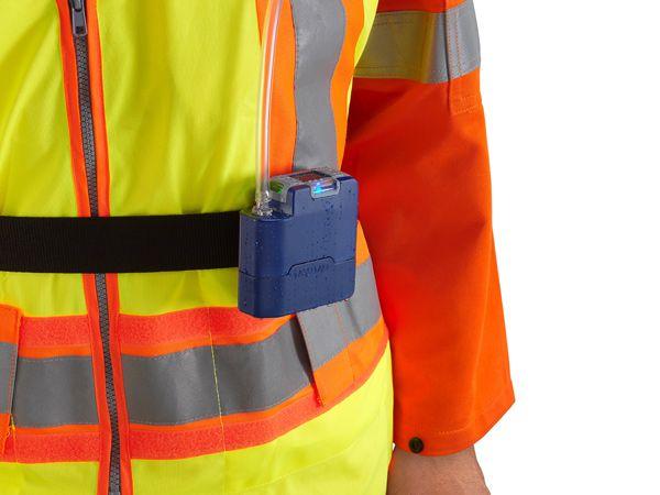 VOC-indikatoren er let synlig, og luftprøvningen derfor let at foretage, ligesom VAPex er let at have med sig rundt på arbejdspladsen, påpeger Casella i forbindelse med lanceringen.