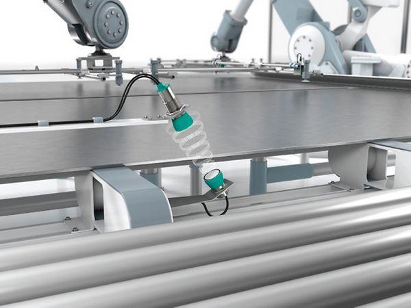 Pepperl+Fuchs Ultrasonic Guide kan blandt andet anvendes til detektering af materialer.