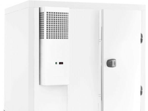 Tefcold fremhæver, at firmaets Plug-in-kølerum kan samles på tre kvarter.