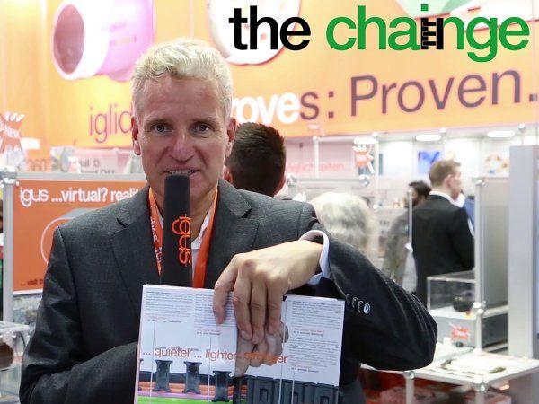 """""""Igus vil med  Chainge Recycling-programmet yde et bidrag til en reduktion af plastaffald og en forbedring af genanvendelsesprocessen,"""" siger virksomhedens øverste koncernchef, CEO Frank Blase."""