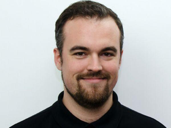 Maskinmester Jacob Tvilling Jørgensen er seneste ansatte hos SICK.