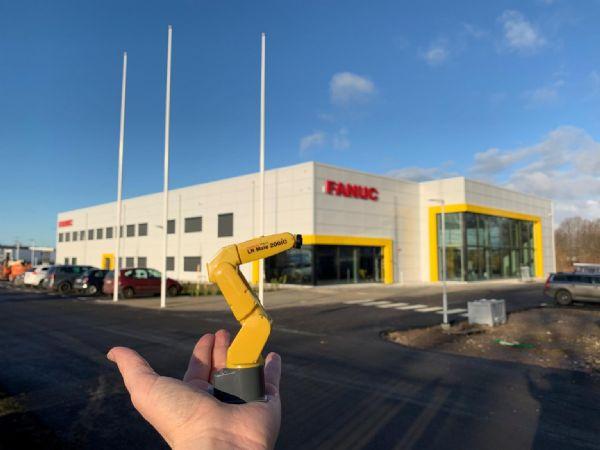 I disse dage indtager Fanuc Nordic-medarbejderne det 3.700 kvadratmeter store nyopførte domicil i Malmø.