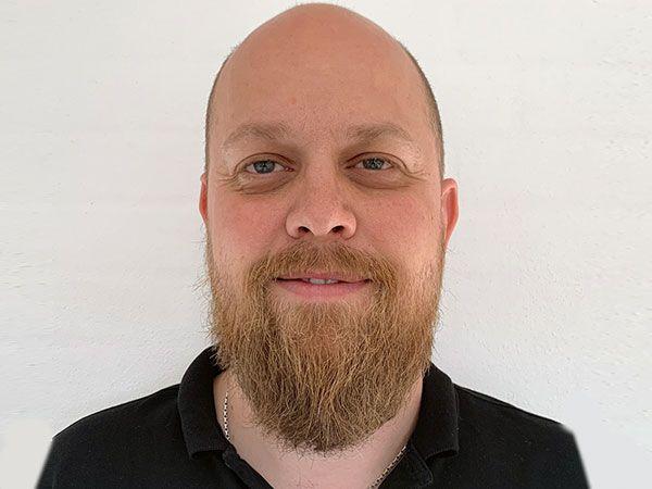 Benny Kallehauge er ansat som servicetekniker hos Kuka.