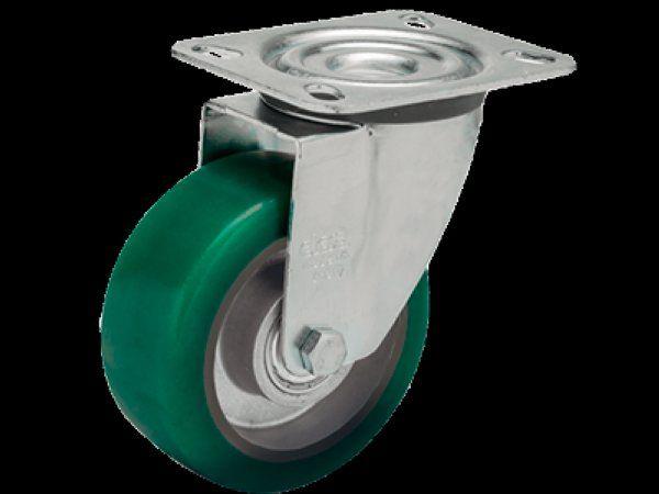 Elesa+Ganter netop introducerede RE.F2, som er et letløbende PU-hjul.