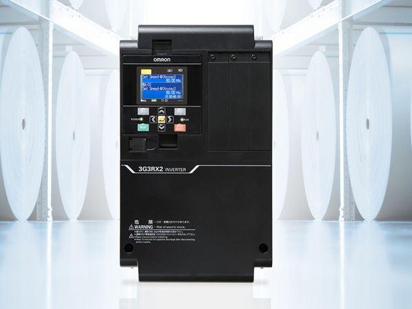 Omron lancerer med RX2-serien højtydende frekvensomformere, fremhæver producenten.
