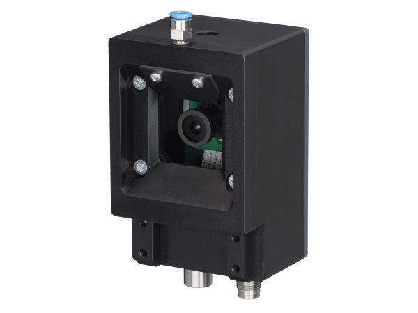 Leuzes LCAM 408i industrielt IP-kamera som producenten har udviklet primært til at overvåge produktionsprocesserne ved værktøjsmaskiner.