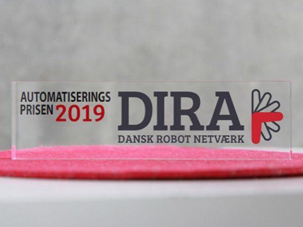 Automatiseringsprisen 2019 uddeles til en af nu tre nominerede blandt i alt 17 indstillinger, oplyser DIRA.