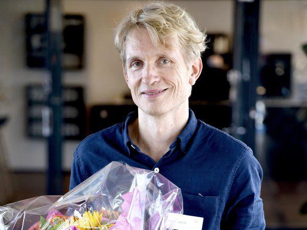 Elektroprisen 2019 er netop tildelt professor Peter Krogstrup. (Foto: Henrik Frydkjær)