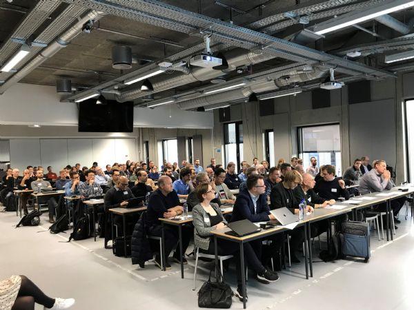 """Så er """"AI for the people-centre"""" ved AAU en realitet. (Foto: Karen Worm Markussen)"""