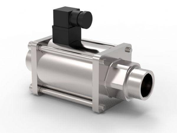 KH-Technic repræsenterer ODE´' s coaxialventiler med forholdsvist stort flow og lavt tryktab.