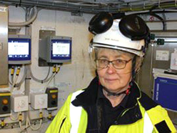 Eon har nu styr på TOC-indholdet i realtid, fortæller Britt-Marie Tureson, der er kemiingeniør hos Eon.
