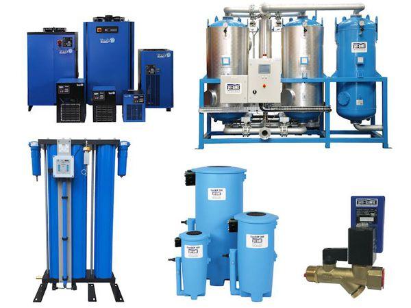Hi-line Industries´ program er udviklet til den internationale standard for komprimeret luftkvalitet.
