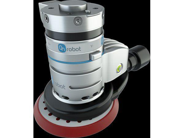 OnRobot-værktøjsløsningen Sander kan integreres med selv større robotmærker, fremhæver producenten.