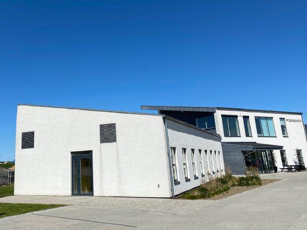 Roskilde-firmaet har i dag domicil i disse flotte rammer. 8. til 10. september er firmaet på plads i Brøndby, hvor firmaets specialister vil stå  til rådighed for dialog.