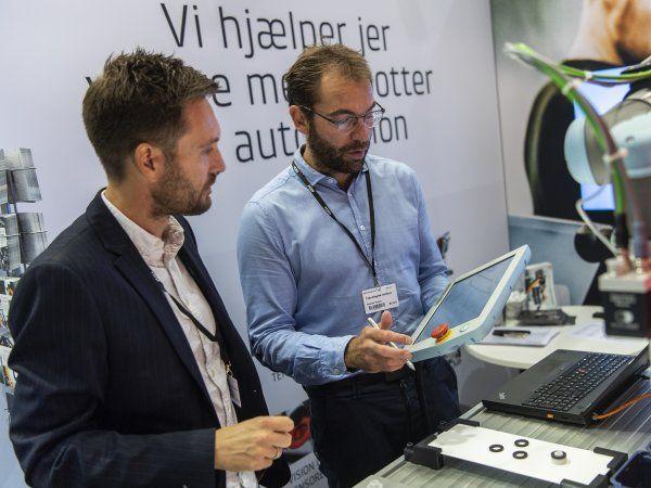 Automatik 2020 er en af de første lejligheder til at udstillere og besøgende kan mødes og ansigt til ansigt drøfte de seneste teknologier, og de muligheder, de åbner for brugerne. (Foto: MCH/Lars Møller)