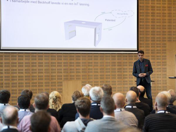 Administrerende direktør i Beckhoff Automation ApS Michael Nielsen har været med til at sammensætte Automatik 2020-konferenceprogrammet, som blandt andet byder på et indlæg om Digital Manufacturing. Ved arrangementet i 2018, benyttede flere end 1.500 sig af muligheden for at deltage. (Foto: MCH/Lars Møller)