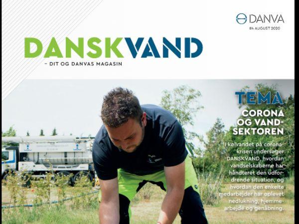 I august-nummeret af DANSKVAND stillles blandt andet skarpt på hvordan de danske vand- og spildevandsselskaber har oplevet og håndteret Covid-19-krisen.