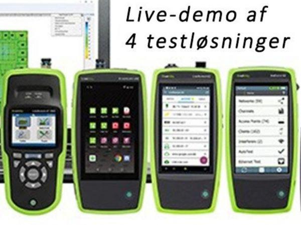 Test er det gennemgående tema ved de kommende Live-demoer 24. og 25. november.