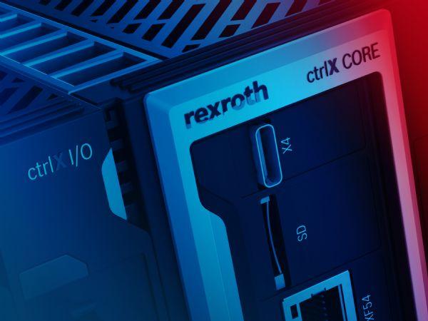Rexroths ctrlX AUTOMATION nedbryder de traditionelle grænser mellem maskinstyringssystem, IT og IoT. Ved brug af Linux realtidsoperativsystem, åbne standarder App-programmeringsteknologi, webbaseret engineering samt omfattende IoT-tilslutningsmuligheder, og komponentforbruget og ingeniørarbejde reduceres med mellem 30 og 50 procent. (Foto: Bosch Rexroth AG)
