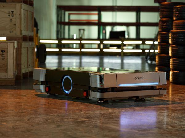 Omrons HD-1500 kan reducere brugen af gaffeltrucks og sikkre transporter af selv paller med op til 1.500 kilogram gods, fremhæver producenten.