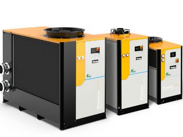 De aktuelt introducerede serier af køletørrere med lav GWP-værdi fra Parker Hannifin.