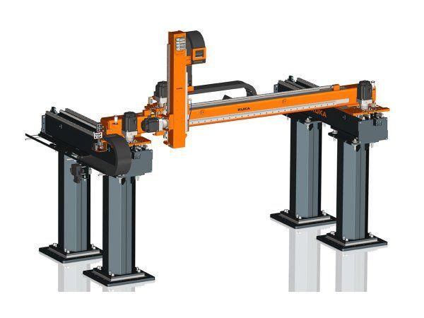 Den aktuelt lancerede KR 300LP gør det muligt for Kuka at tilbyde lineære robotter i spændvidden op til og med 600 kilogram.