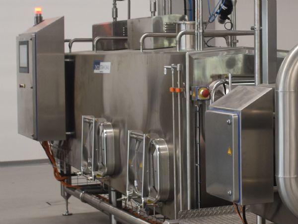 Irinox' rustfrie, industrielle kapslinger til maskinbyggerne repræsenteres nu af Wexøe i Sverige og Danmark.