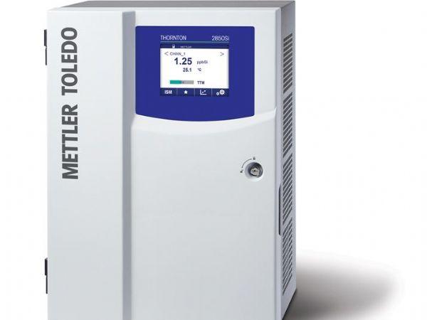 Den aktuelle model 2850Si er Mettler Toledos seneste silikaanalysator.
