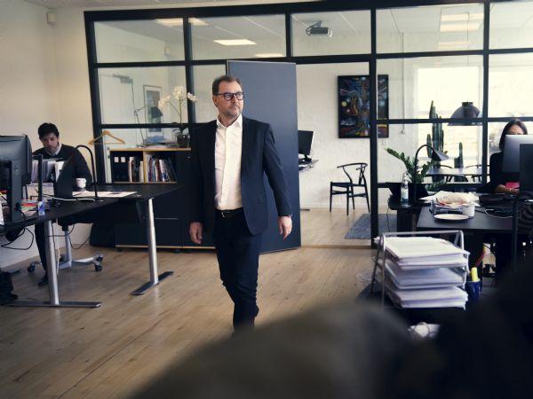 Globeteams CEO Claus Moldow noterer at resultatet for 2019 er tilfredsstillende, og fortsætter virksomhedens positive vækstkurve.