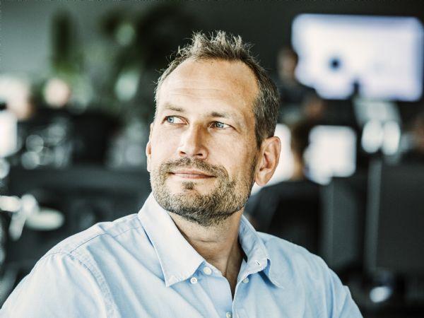 """Dinero-direktør Martin Thorborg: """"Vi har brug for innovative mennesker, der tør udfordre det etablerede marked""""."""