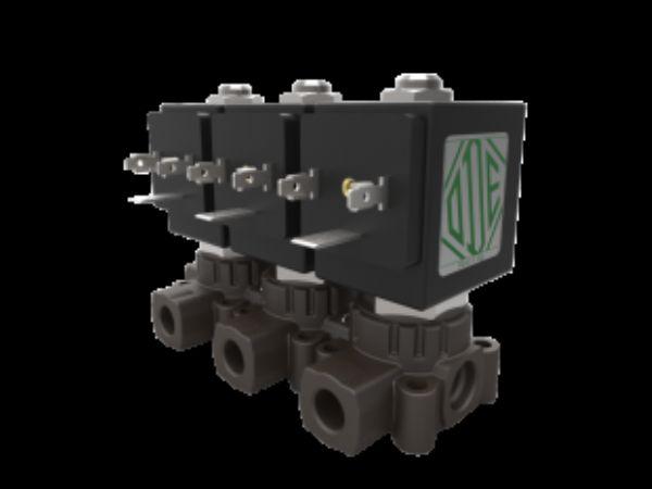 AM-serien fra ODE omfatter modulært opbygget ventilblokke.
