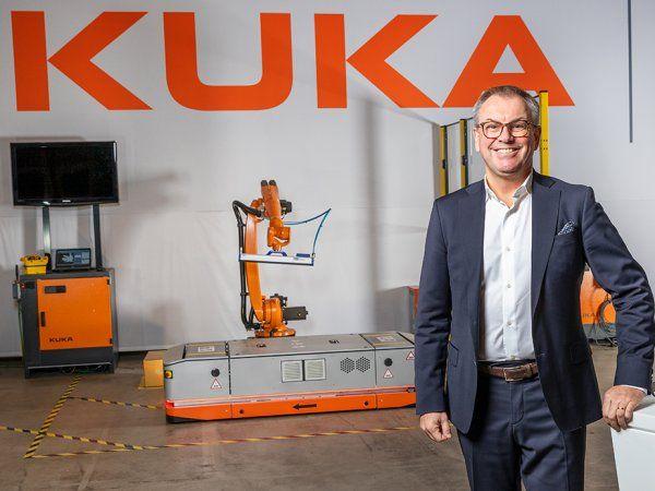 Joacim Lorentsson er fremadrettet øverste chef i Kuka Nordic.