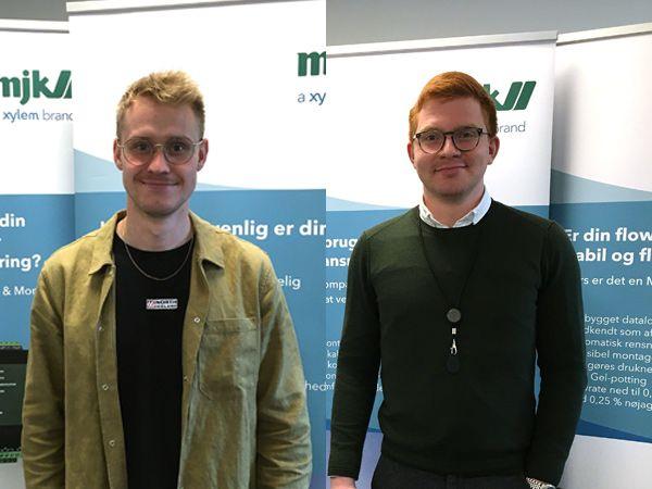 MJK-staben er aktuelt udvidet med Nicklas Lind-Pedersen (t.v.) og senest Jonas Vesterholm (t.h.).