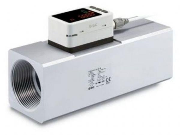 Blandt en række eksempler på andre produktområder fra SMC peges blandt andet på den alsidige PF3A-flowmåler.