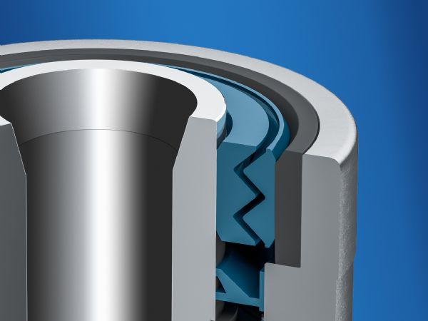 Baumers Heavy Duty-tætningskoncept muliggør beskyttelsestype IP 66 og IP 67 på tværs af et temperaturområde på op til 95 grader Celsius. Kombinationen af labyrint- og akseltætninger gør at Heavy Duty-drejegiverne er permanent beskyttet mod alle former for fast, fugtig og pastøs tilsmudsning.