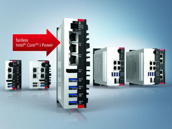 Beckhoffs kraftfulde og kompakte C60-serie af industri-PC'er,