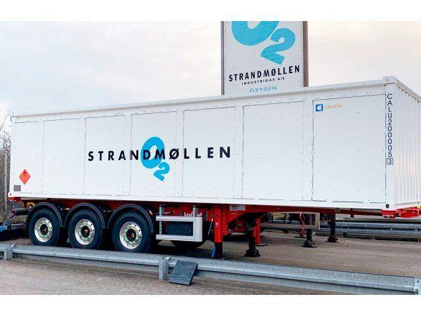 Strandmøllen har for at styrke sin brintposition fordoblet kapaciteten med yderligere blandt andet 300 bars brint-trailere.
