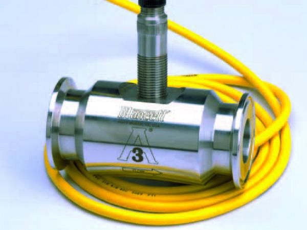 De seneste sanitære turbine-flowmålere fra FloClean overholder kravene i 3-A Sanitær Standardnummer 28-04.