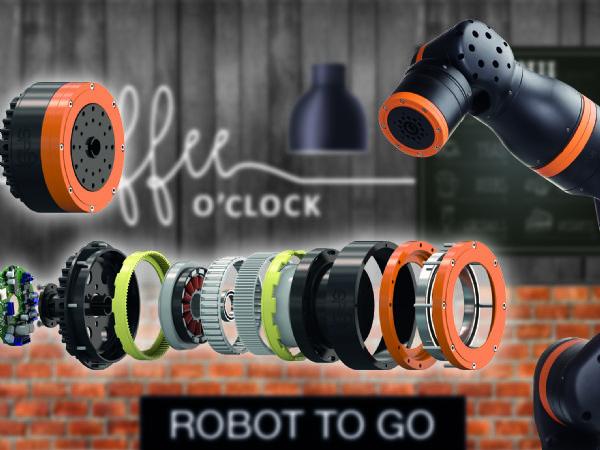 Med det lette modulopbyggede gearkassesystem ReBel fra Igus kan flere ideer opstår på robot-området. (Illustration: Igus GmbH)