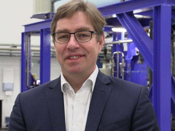 Efter godt syv års udvikling er  der nu et færdigt produkt, som skal leveres til det første salt-kraftværk til sommer, fremhæver SaltPower-CEO Lars Storm Pedersen.