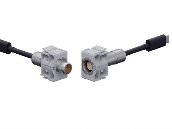 ODU-MAC Blue-Line-konnektorer dækker også High Speed-signaler.