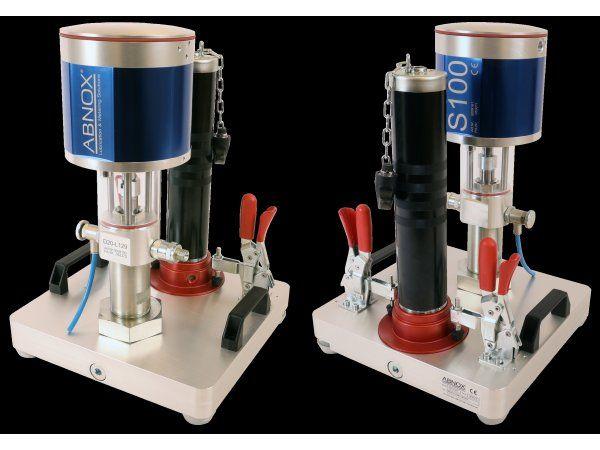 Diatoms bud på effektiv og kompakt løsning til pumpning fra DIN1284-fedtpatroner.