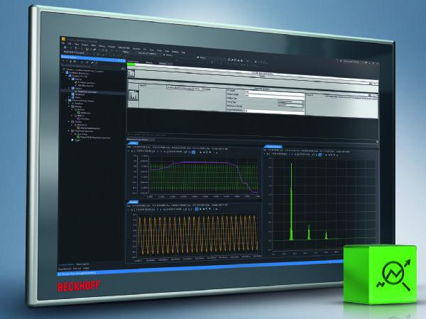 Condition Monitoring-algoritmer kan nu integreres i TwinCAT Analytics uden programmering.