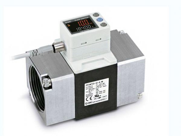 Med PF3W-flowmåleren kan SMC nu tilbyde en intelligent løsning til monitorering af vandforbrug.