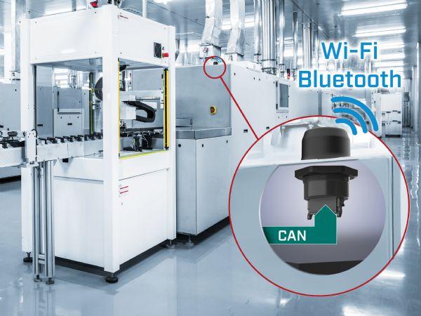 Anybus Wireless Bolt CAN er CAN-kommunikation via Wi-Fi eller Bluetooth, fremhæver HMS.