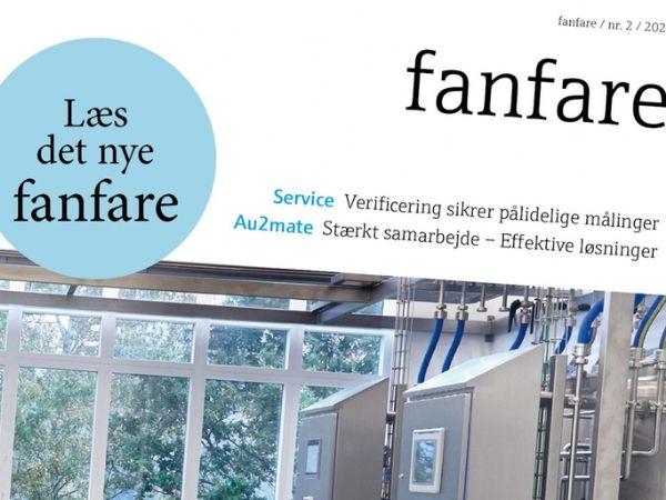 Seneste udgave af Endress+Hauser-kundemagasinet fanfare er nu på gaden.