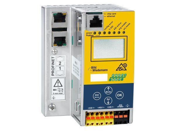 ASi-5/ASi-3 PROFIsafe via PROFINET-gateway med integreret Safety Monitor (BWU4018).